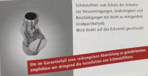 Systemceram - Schmutzfilter (2er Set)