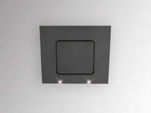 Silverline Porto 90 cm Schwarzglas - PRW 900S